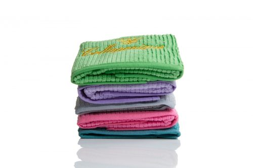 micro miracle exfoliating bamboo microfibre cleaning cloth
