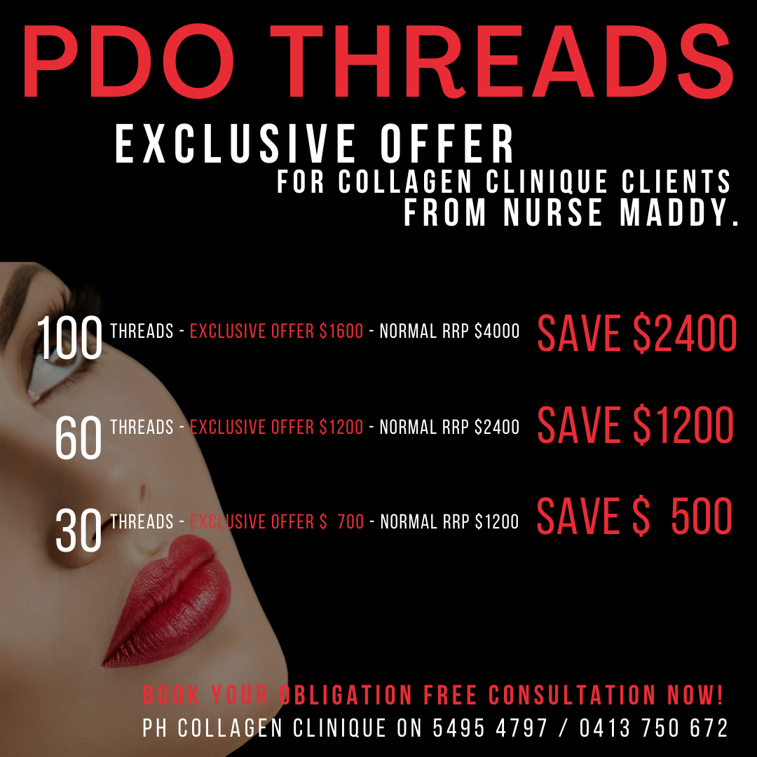 PDO Threads Korean Threadlift Anti-Wrinkle Collagen Stimulating Threads